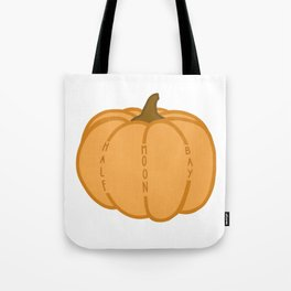 Half Moon Bay Pumpkin Tote Bag