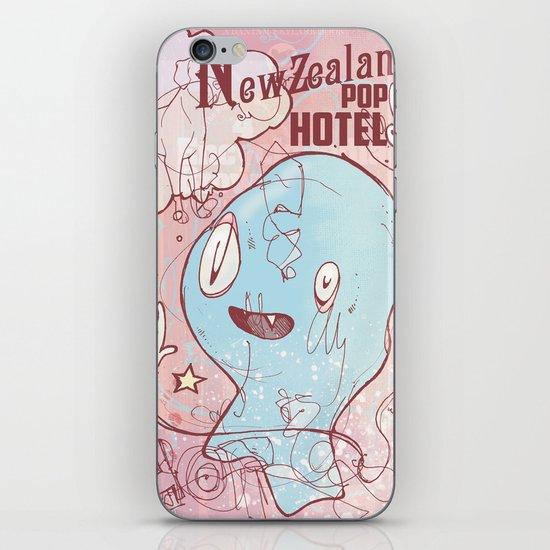 NewZealand Pop Hotel iPhone & iPod Skin