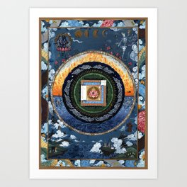 Mandala #31 Art Print