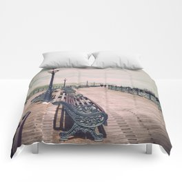 Swanage Pier Antique Comforters