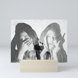 I'VE BEEN SEING YOUR SOUL 1 Mini Art Print
