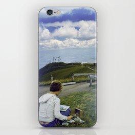 Quito Painter iPhone Skin