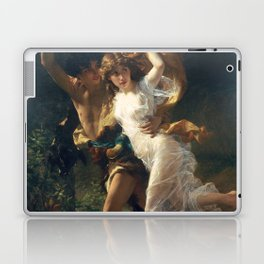 The Storm by Pierre-Auguste Cot 1880, French Laptop & iPad Skin