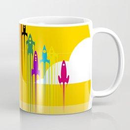 colorful rockets Coffee Mug