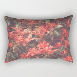 ROYAL SCARLET RED Rectangular Pillow