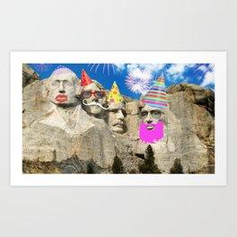 party with sluts Art Print