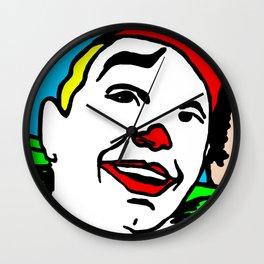pair of clowns and fun Wall Clock