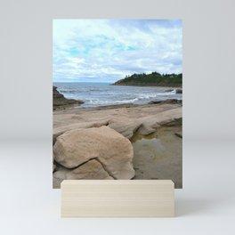 Ocean Rocks Mini Art Print