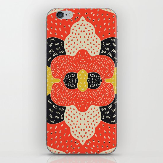 Shaggy day iPhone & iPod Skin