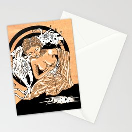 Lady Coyote Stationery Cards