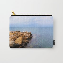 seagulls on the coast Carry-All Pouch