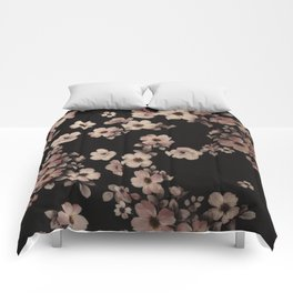FLORAL PINK CHERRY BLOSSOM Comforters