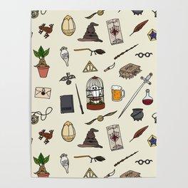 Harry Pattern Poster