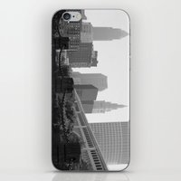 cleveland iPhone & iPod Skins featuring Cleveland Skyline  by TiffanyOneillPhotography