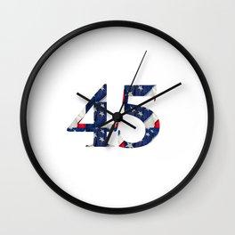 45 - POTUS Wall Clock