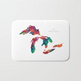 The Great Lakes Bath Mat