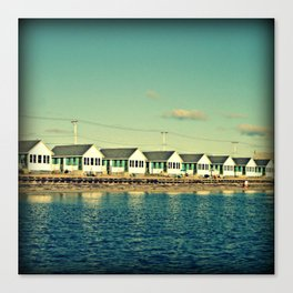 Days Cottages, North Truro Canvas Print