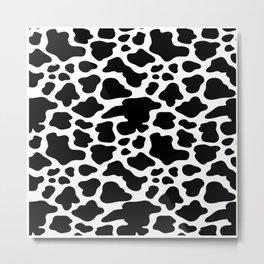 Cow Pattern | Cow Spots Farm Farmer Animal Milk Metal Print