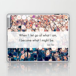 Daily Meditation Quote Laptop & iPad Skin
