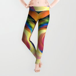 Spinning rainbow Leggings
