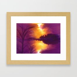 Colorbanks Framed Art Print