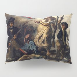LIBERTY LEADING THE PEOPLE - EUGENE DELACROIX Pillow Sham