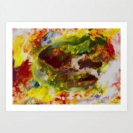 Jupiter by Noora Elkoussy Art Print