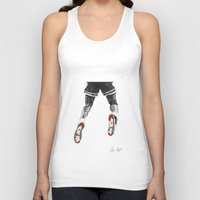 1989 Tank Tops featuring mj 1989, the shot I by Jen Hynds