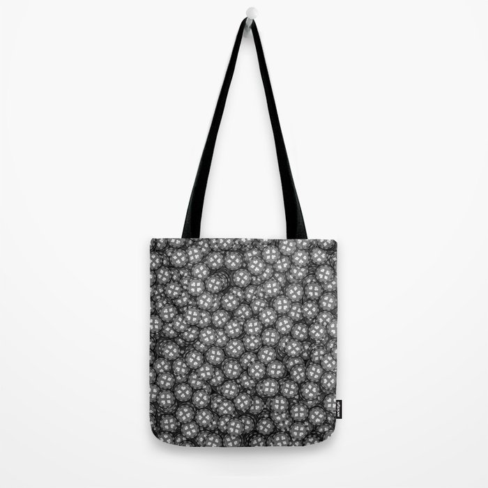 Poker chips B&W / 3D render of thousands of poker chips Tote Bag