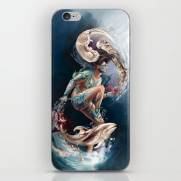 Sedna: Inuit Goddess of the Sea iPhone Skin