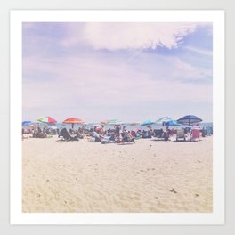 East Coast Connecticut Beach Art Print