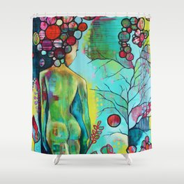 Summerday Shower Curtain