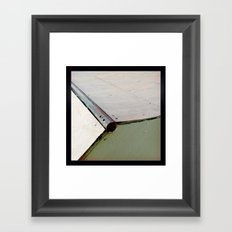 Coping Framed Art Print