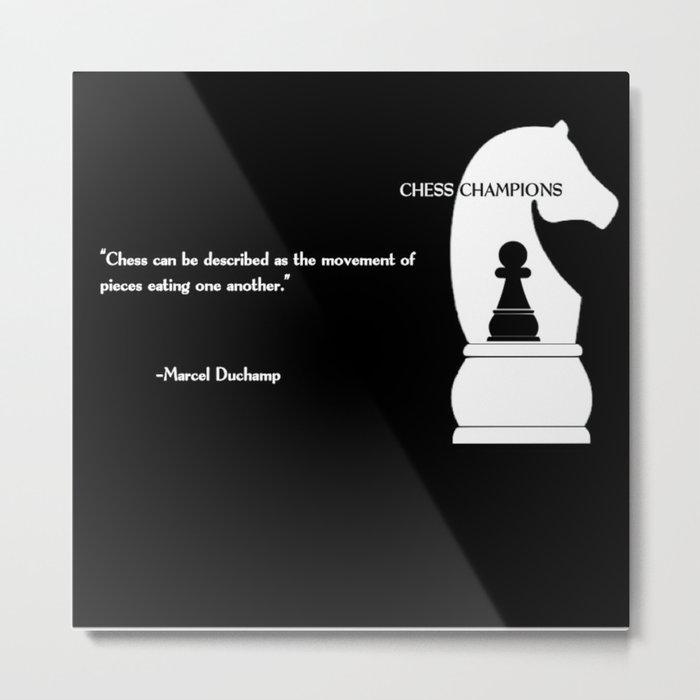 chess pic editable Metal Print