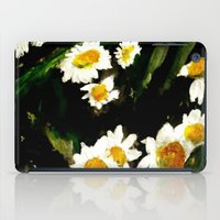 daisies iPad Cases featuring Daisies by James Peart