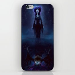 The Puddle Queen iPhone Skin