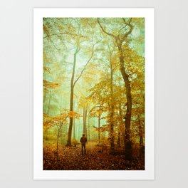 light from above Art Print