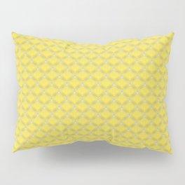 Small scallops in buttercup yellow Pillow Sham