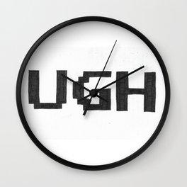 UGH Wall Clock