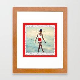 Tu Me Manques Framed Art Print
