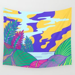 Fantasy Valley Wall Tapestry