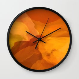 in your warmth Wall Clock