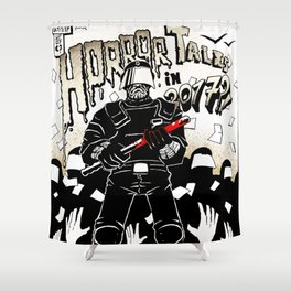 Horror Tales in Catalonia october 1st Shower Curtain
