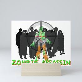 Z Assassin Mini Art Print