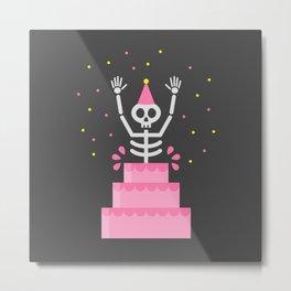 Happy Deathday Metal Print