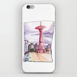 Coney Island: Parachute Jump iPhone Skin