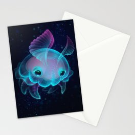 Biscuit, The Deep Sea Jelly Bun Stationery Cards