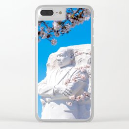 Dr. King in the Spring Clear iPhone Case