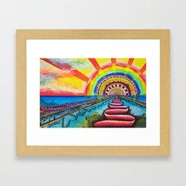 Sundog Framed Art Print