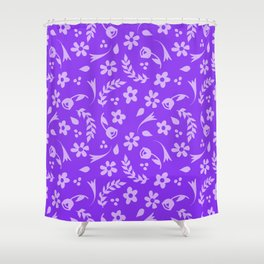 Macy - purple Shower Curtain